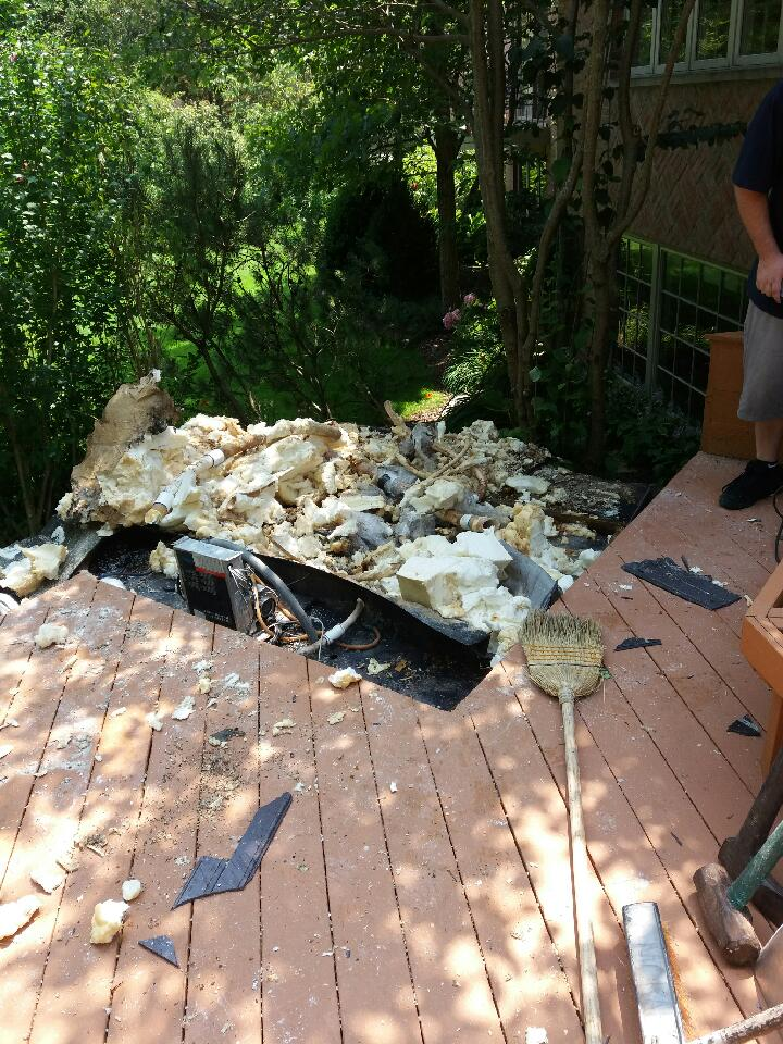 Hot Tub Removal Chicagoland